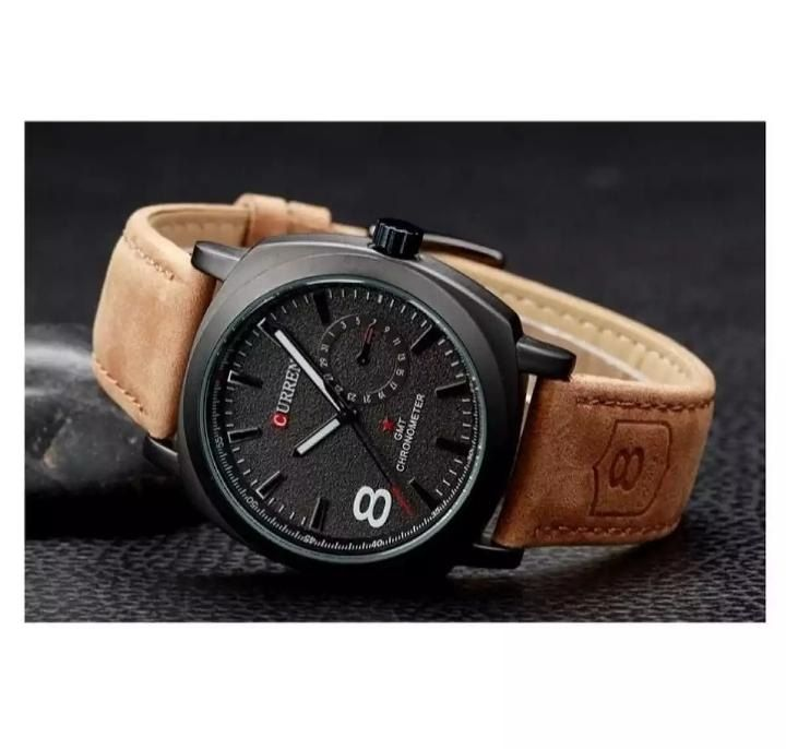 WRIST WATCHE FOR MEN FANCY WATCHES LEATHER