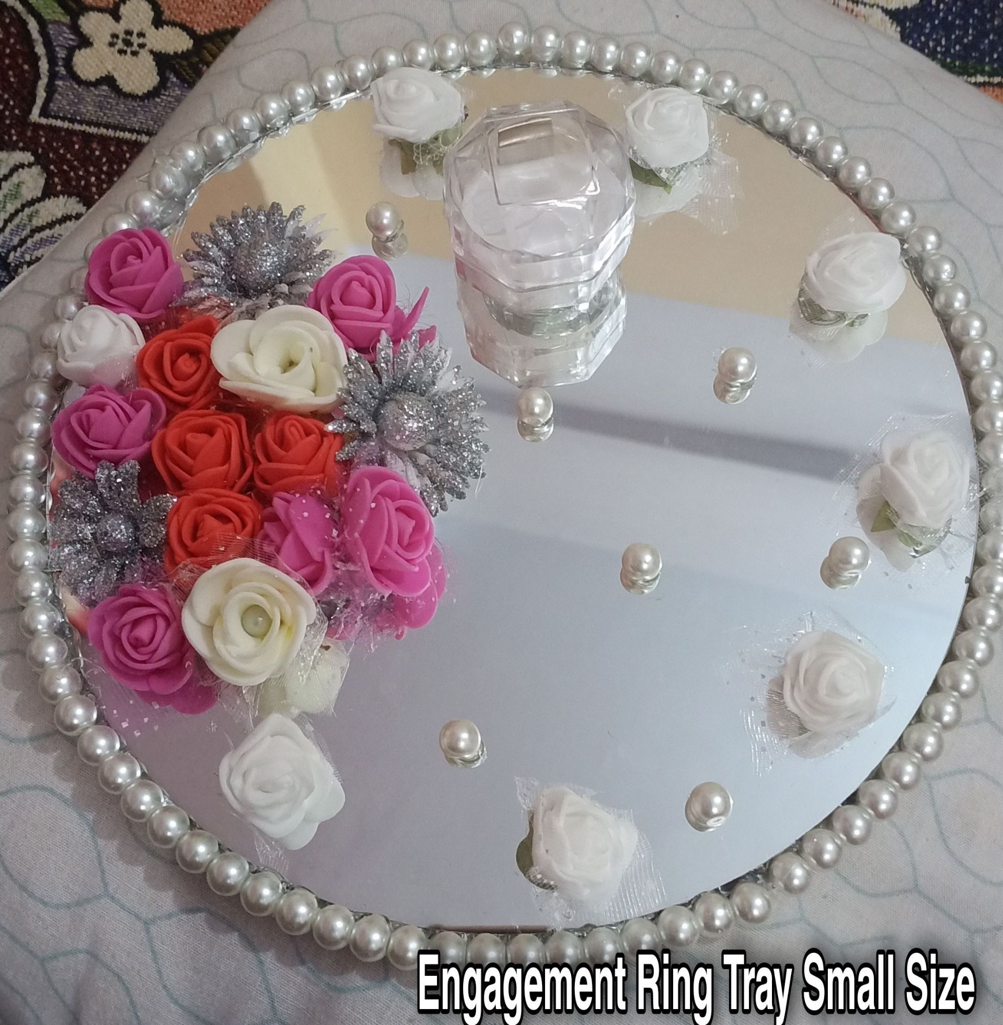 Engagement Ring Plate || Engagement Ring Tray | Engagement Tray | Engagement Plate