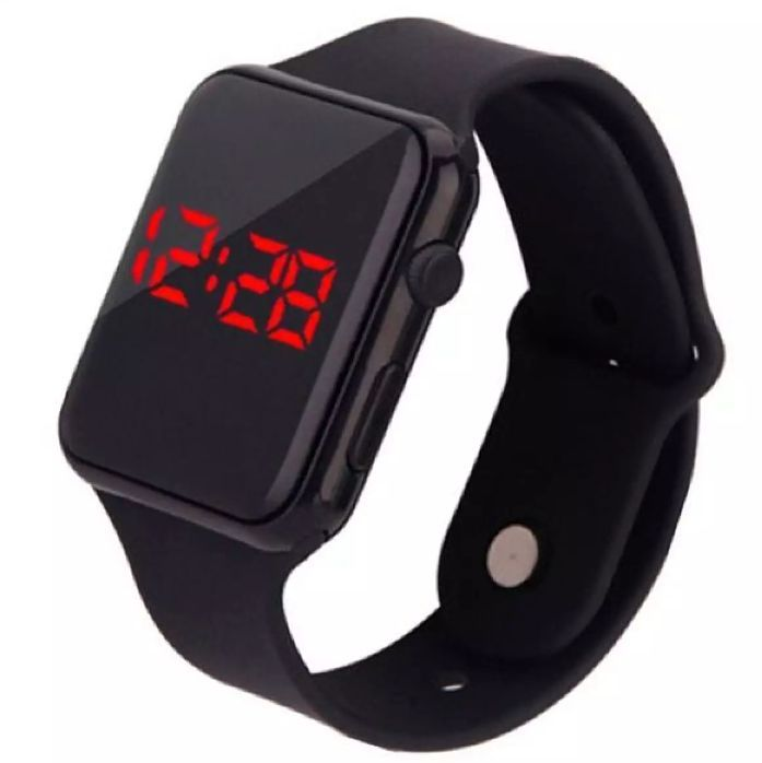 Digital Watch Square LED Shockproof Multi-Functional Automatic Sports Watch for Men's Kids Watch for Boys - Watch for Men