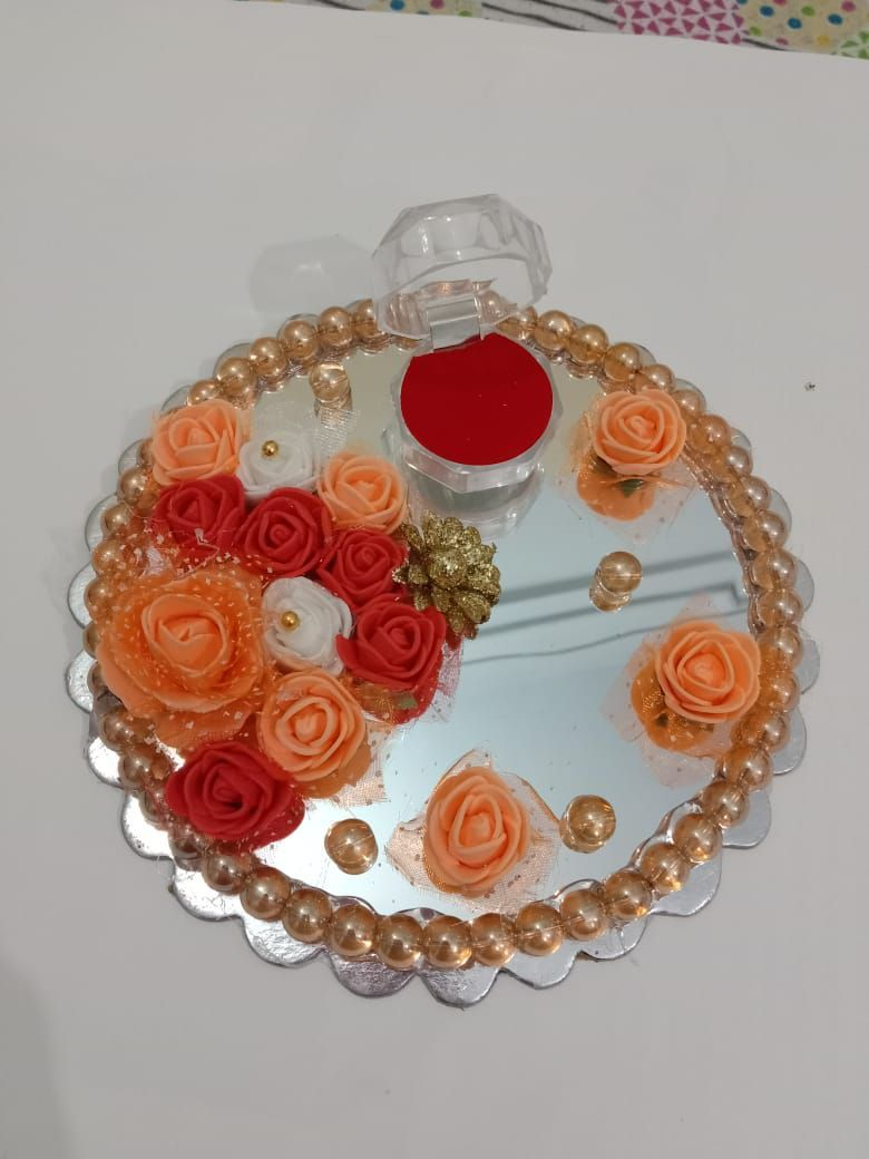Engagement Ring Plate Small size - Engagement Ring Tray - Engagement Tray
